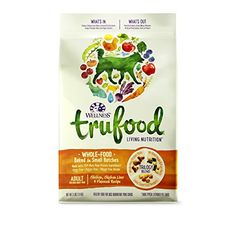 Wellness TruFood Baked Blends Natural Grain Free Dry Raw Dog Food, Chicken, Chicken Liver