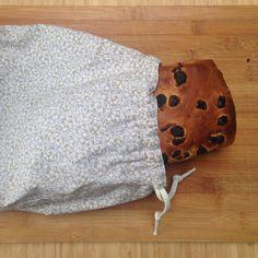 Wollebol: Vers brood bewaren in een zelfgemaakte broodzak: tutorial