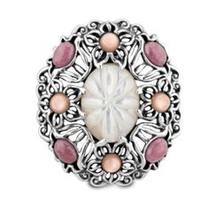 Southwestern Mother of Pearl and Rhodonite Floral Enhancer