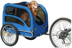Dog Bicycle Trailers - Solvit Trackr Pet Bicycle Trailer with Bicycle Hitch >>> Find out more about the great product at the image link. (This is an Amazon affiliate link)