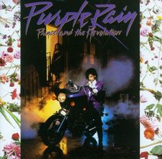 Purple Rain - the very first cassette tape I bought myself with my hard earned babysitting money. I LOVE IT