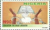 Education :The Great Liberator Stamp
