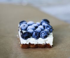Blueberry Cheesecake Bars Dairy-Free, Gluten, SCD, Egg Free