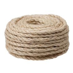 3/8 in. x 50 ft. Sisal Rope-18005 - The Home Depot