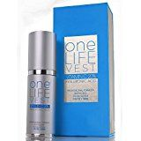 Luxury Anti Aging Skincare Treatment for Face, Organic Vitamin C Serum 20% + Hyaluronic Acid for Men and Women by One Life Vest. Dark Spot, Fine Lines and Wrinkles Removal. EMMY AWARD Sponsor Product.