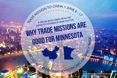 Why Trade Missions are Good for Minnesota