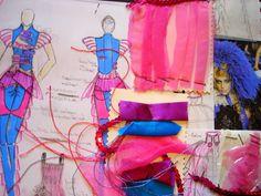 Fashion Sketchbook - fashion drawings & samples