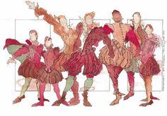 Tim Heywood Costume Design, Squeakers