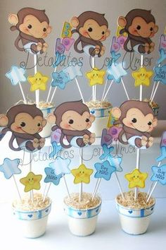 1000 images about baby shower on pinterest monkey baby - Detalles para baby shower ...