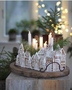 All Things Christmas and Winter Christmas Gingerbread House, Noel Christmas, Christmas 2019, All Things Christmas, Winter Christmas, Christmas Cookies, Christmas Crafts, Xmas, Swedish Christmas Decorations