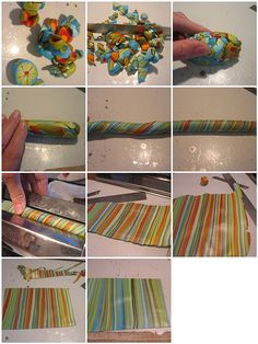 how to make a striped sheet tutorial by Orly Rabinowitz