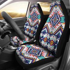 12-17 Tailored Fit Grey Driver Double Passenger Seat Covers for VW Crafter