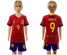 http://www.xjersey.com/spain-9-morata-home-youth-euro-2016-jersey.html SPAIN 9 MORATA HOME YOUTH EURO 2016 JERSEY Only 33.11€ , Free Shipping!
