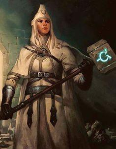 f Cleric w Hammer