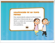 """""""Understanding a poetic text"""" (Primary Education Literature) - Learn Spanish Primary Education, Spanish Language, Learning Spanish, Losing You, Texts, Comprehension Activities, Interactive Activities, Teaching Resources, Learn Spanish"""