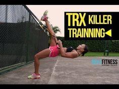 TRX Fitness Workout - Killer TRX Training - YouTube