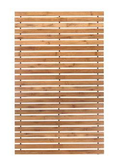 BADE(T)RÄUME Schöne Bambusmatte der Marke Kleine Wolke. Wirkt edel im Badezimmer