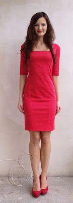 DIY: red dress