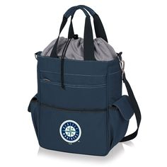 Picnic Time Seattle Mariners Activo Insulated Lunch Cooler, Blue