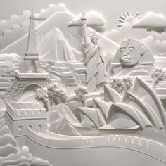 Las esculturas en papel de Jeff Nishinaka