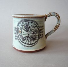 pottery mug by Julia Smith Ceramics