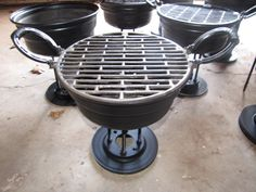 Salvaged Metal Barbeque £60.00