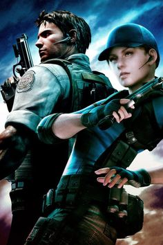 Resident Evil (Chris and Jill) My 2 favourite characters alongside with Four Eyes (RE: OPRC)