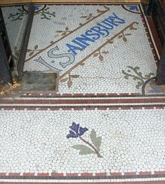 J Sainsbury Entrance Mosaic: Cheam by curry15, via Flickr