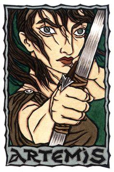 Artemis, Greek Goddess of the Wild by Thalia Took