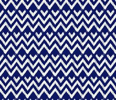NATIVO - talavera blue fabric by marcador on Spoonflower - custom fabric