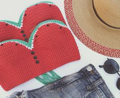 The Watermelon Crop Top ... you know, for your juicy melons 😉🍉🍉😎