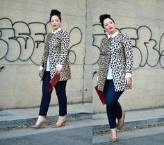 Full Figured & Fashionable Plus size fashion for women, Plus size street style looks http://www.justtrendygirls.com/plus-size-street-style-looks/
