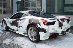 Bilder: Autos in Camouflage/Flecktarn