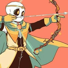 Dream sans has gained a new outfit, he gained this outfit for protecting his older brother (nightmare) from a gang of teens that didn't like monsters but dream would do anything to protect his older brother