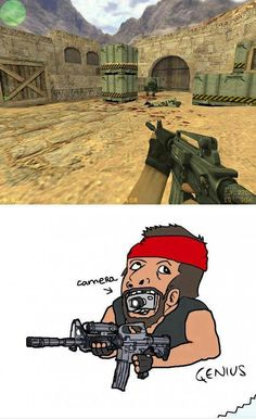 Funny call of duty. That's what it feels like alright