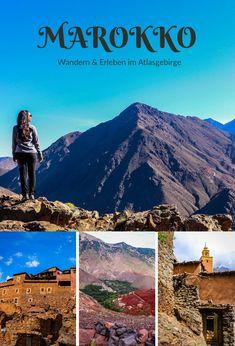 Marokko & das wunderschöne Atlasgebirge - Entecke auf meinem Blog dein Wander-Herz und finde tolle Inspirationen für deine nächste Reise! Koh Lanta Thailand, Reisen In Europa, Agadir, Travel Companies, North Africa, Marrakech, Trip Planning, Travel Destinations, Road Trip