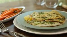 Pan-Seared Tilapi - serve with risotto