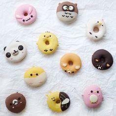 Donuts! . .. ... #snipsnapfood #storyofmytable