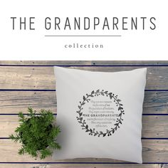 GRANDPARENTS hand printed personalized quote cushions and fabric art prints to show your appreciation for your parents and grand parents by My Home and Yours Grandparents Day, Grandma Gifts, Fabric Art, Lifestyle Blog, Art Quotes, Anniversary Gifts, Appreciation, Cushions, Art Prints