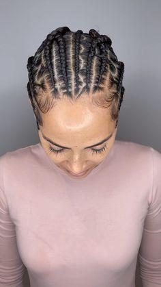 African American Braided Hairstyles, African American Braids, African Braids, Little Girls Ponytail Hairstyles, Braids Hairstyles Pictures, Girl Hairstyles, Messy Braids, Long Braids, Protective Style Braids