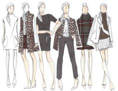 The sketches that started our Oasis Brighton Rock collection... #oasis #brightonrock #fashion