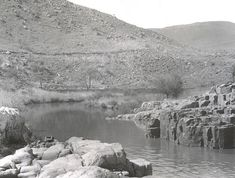Waterval-Boven, 1938. Elands River just above Elands River waterfall. - Atom site for DRISA Waterfall, River, Outdoor, Outdoors, Waterfalls, Outdoor Games, The Great Outdoors, Rivers