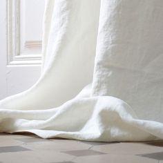 Lin Delave II (lescreations.com): lino de alta calidad, lavado a la piedra #interiordesign #homedesign #homedecor #homesweethome #textiles #textildesigner #fabric #linen