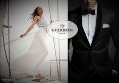 """CERIMONIE Guerrino Style UOMO#DONNA & CURVY #ConsulenzaPersonalizzata ( anche c/Appuntamento gratuito al 0733-566034) #ServizioSartoriale """"a Misura"""" LEI: BIANCA BRANDI LUI: MANUEL RITZ"""