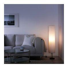HOLMÖ Floor lamp IKEA Gives a soft mood light.