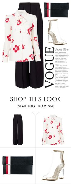 """Sep 2nd (tfp) 2137"" by boxthoughts ❤ liked on Polyvore featuring Miss Selfridge, Yves Saint Laurent, Tomasini, Cape Robbin and tfp"