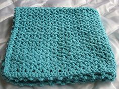 Ravelry: Sea Blue Baby Afghan pattern by Lion Brand Yarn