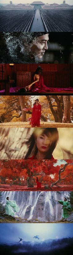 'Hero' (Yimou Zhang, 2002) DoP: Christopher Doyle #Cinematography
