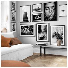 Inspiración para tu collage de pared y póster Desenio . - Inspiración para tu collage de pared y póster Desenio Inspiración para tu colla - Living Room Decor, Bedroom Decor, Wall Decor, Decor Diy, Decoration, Decor Ideas, Wall Art, Inspiration Wall, Interior Inspiration