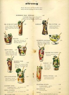 1950 take out menus - Google Search